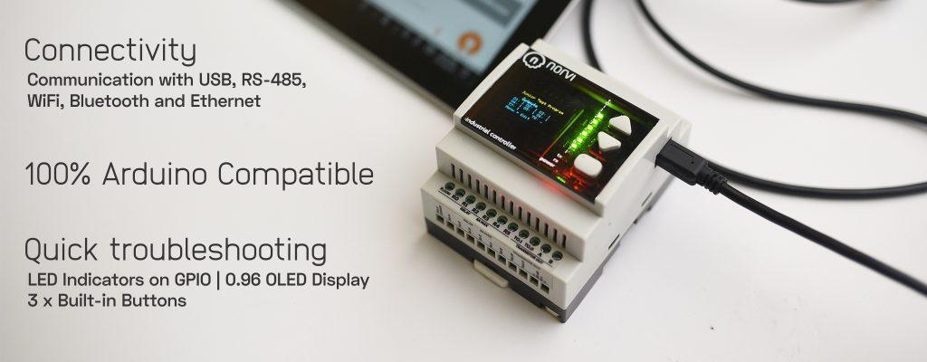 NORVI Industrial Arduino | Industrial ESP32 MEGA PLC IOT